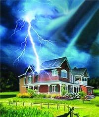 Молниезащита зданий, молниеприемник г.Копейск
