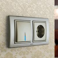 Установка выключателей в Копейске. Монтаж, ремонт, замена выключателей, розеток Копейск.